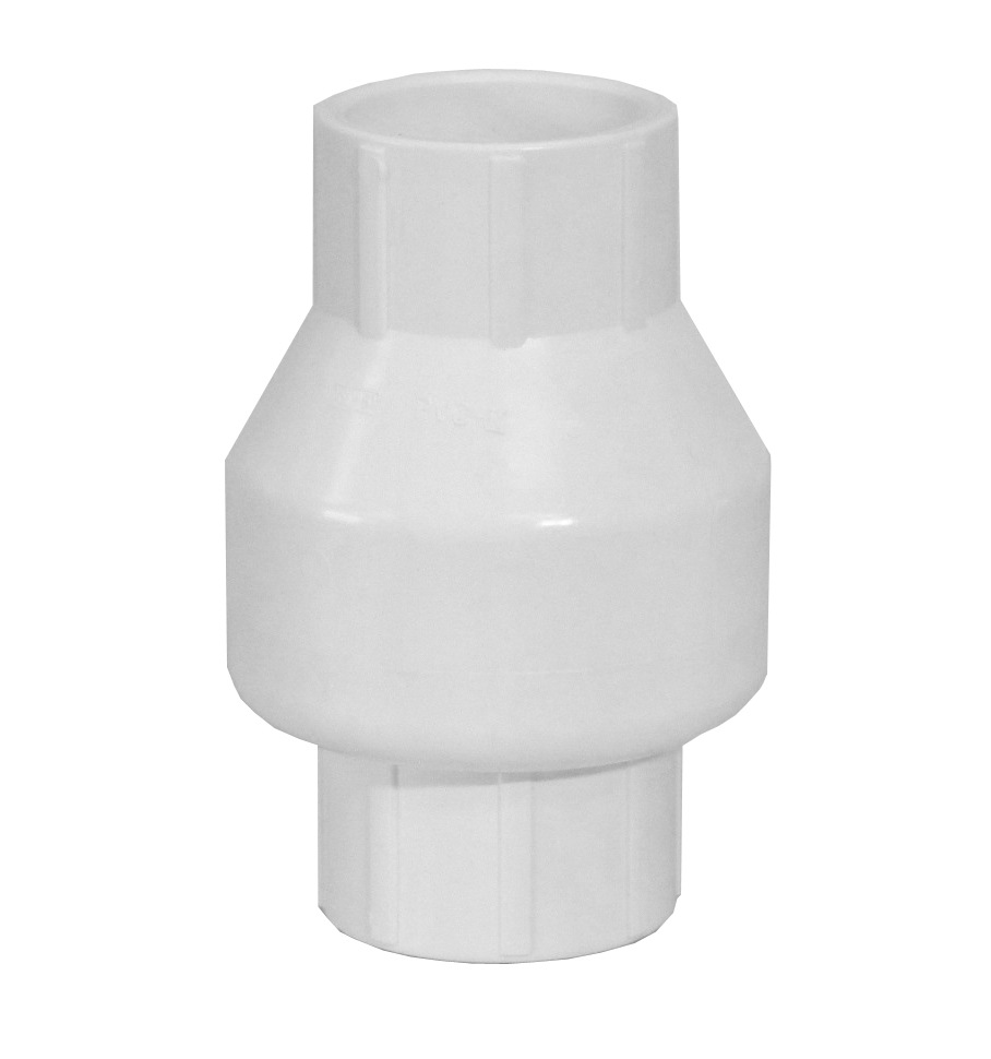 1 5 Pvc Check Valve For Swimming Pool Plumbing And Solar Systems