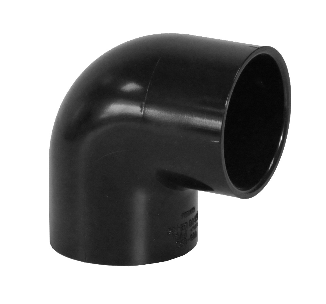 90 Degree Elbow 2 Quot Black Sch 40 Pvc Fitting Recommended