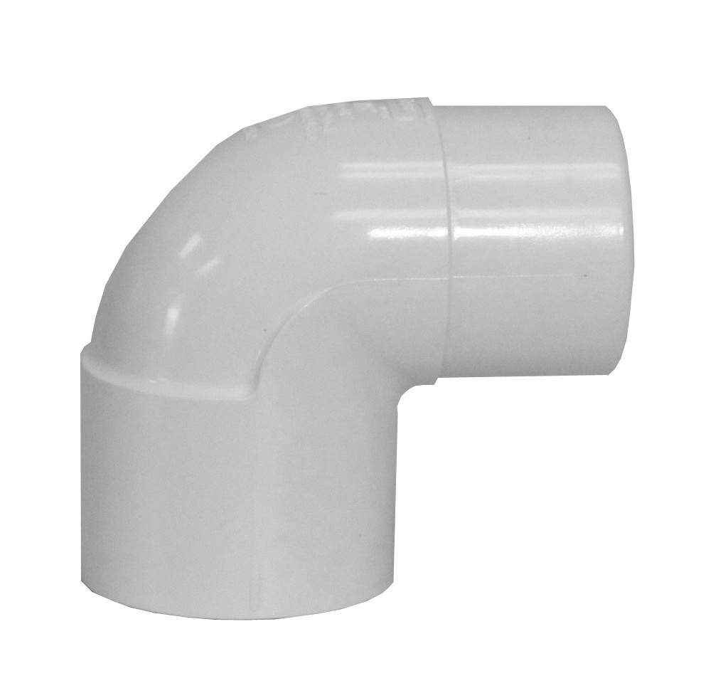 90 Degree Elbow 2 Quot M F White Sch 40 Pvc Fitting