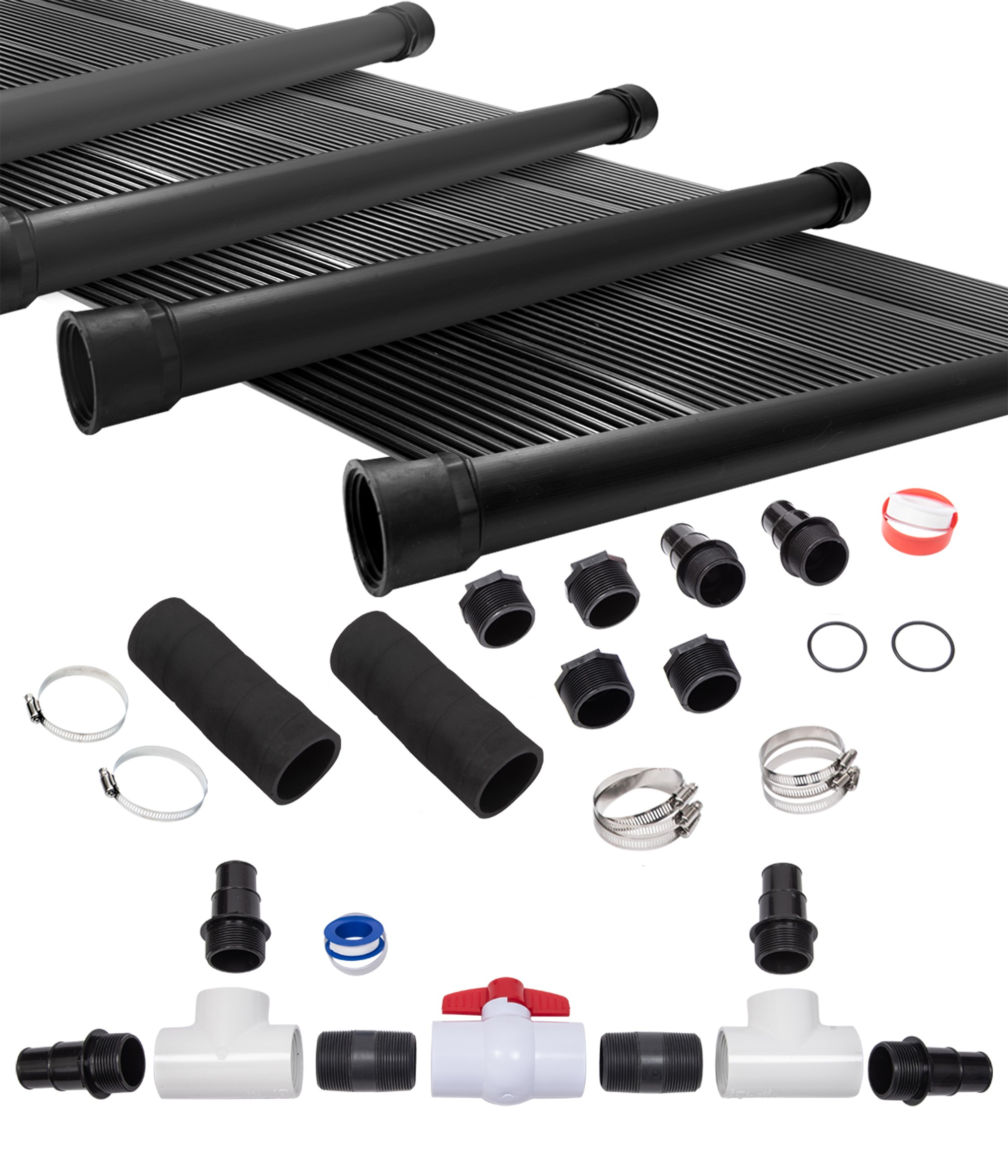 6-2\'X12\' SunQuest Solar Swimming Pool Heater System with ...