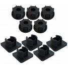 Fafco Sunsaver Replacement Base and Cap for Roof Strap - 5 Pack
