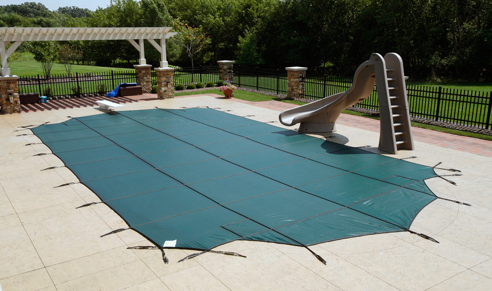 Mesh Rectangular Safety Cover 15 39 X 30 39 In Ground Pool