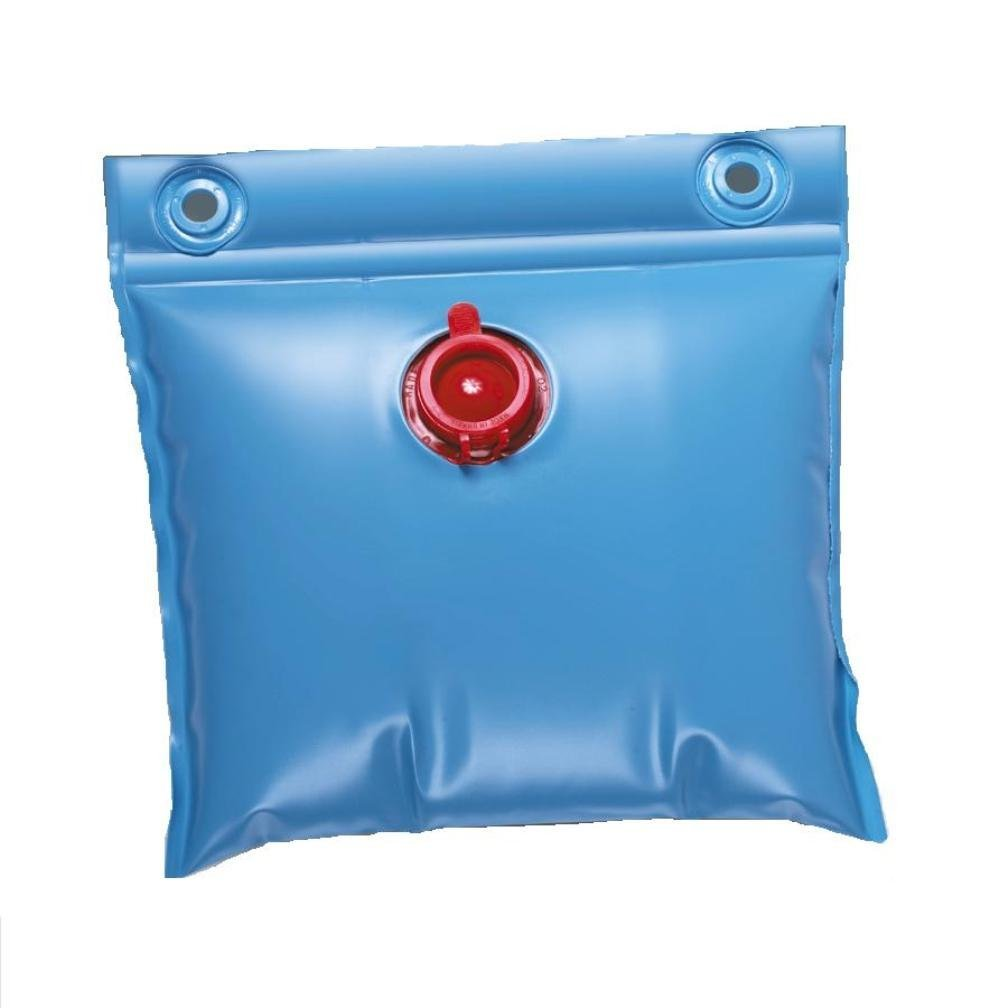 Swimming pool winter cover wall bags for above ground for Pack swimming