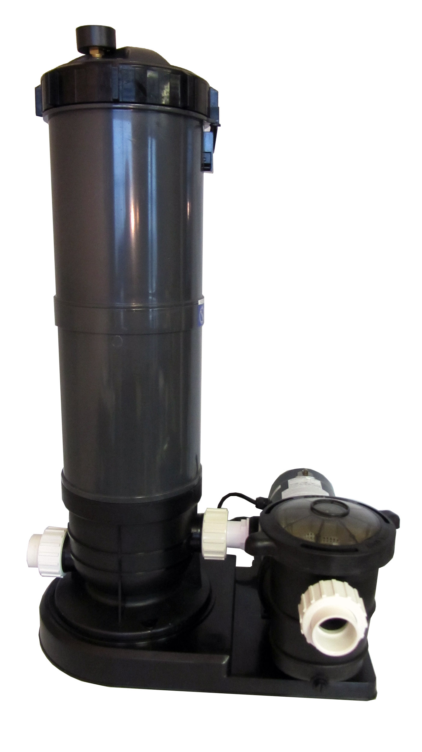 Above Ground Swimming Pool Cartridge Filter System With 2 Speed Pump 1 5 Hp