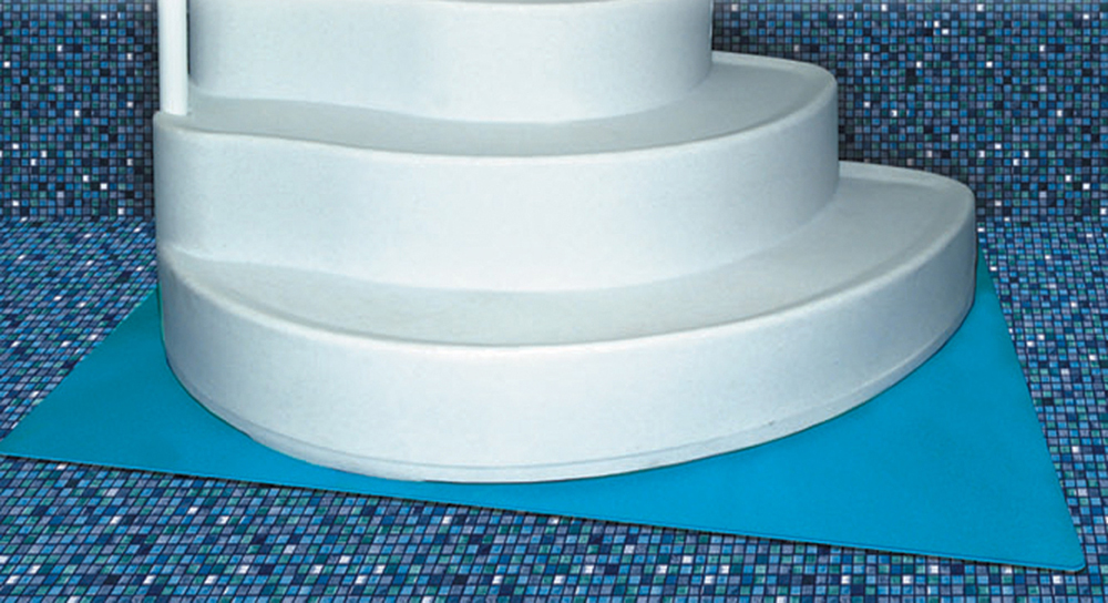 deluxe step pad for above ground swimming pools 4 39 x 5 39 ebay